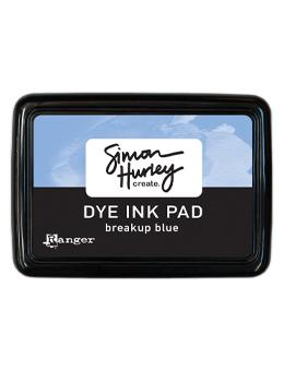 Simon Hurley create. Dye Ink Pad Breakup Blue Ink Pad Simon Hurley