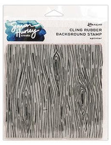 NEW! Simon Hurley create. Background Stamp 6x6 Splinter