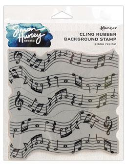 Simon Hurley create. Background Stamp Piano Recital Stamps Simon Hurley