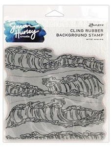 Simon Hurley create. Background Stamp Wild Waves Stamps Simon Hurley