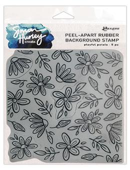 Simon Hurley create. Background Stamp Playful Petals Stamps Simon Hurley