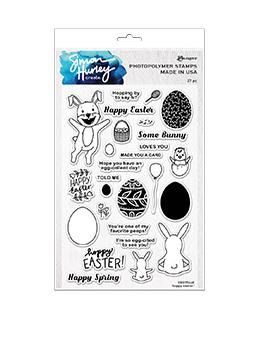 Simon Hurley create. Photopolymer Stamp Hoppy Easter! Stamps Simon Hurley Stamp