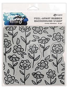 Simon Hurley create. Background Stamp Crazy Daisies Stamps Simon Hurley