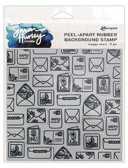 Simon Hurley create. Background Stamp Happy Mail Stamps Simon Hurley
