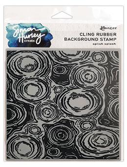 Simon Hurley create. Background Stamp Splish Splash Stamps Simon Hurley