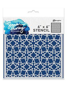 NEW! Simon Hurley create. Stencil 6x6 Backsplash