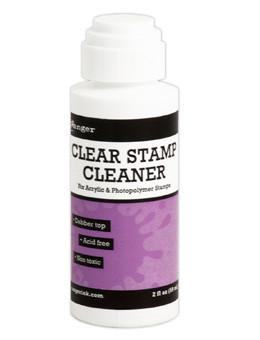 Ranger Clear Stamp Cleaner, 2oz Cleaners Ranger Brand