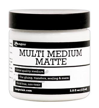 Ranger Multi Medium Jar Matte, 4oz Medium Ranger Brand