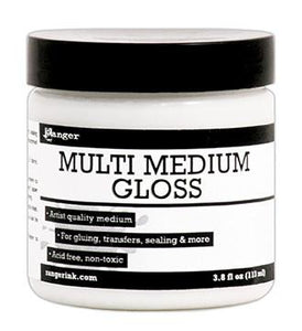 Ranger Multi Medium Jar Gloss, 4oz Medium Ranger Brand