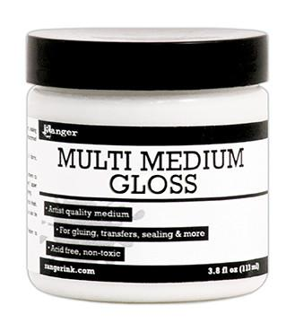 Ranger Multi Medium Jar Gloss, 4oz
