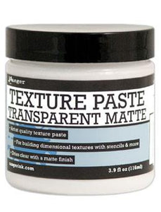 Ranger Texture Paste Transparent Matte, 4oz