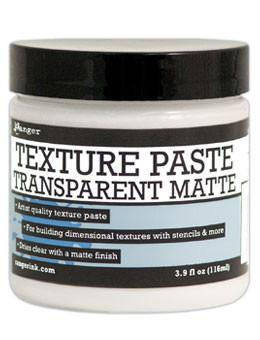 Ranger Texture Paste Transparent Matte, 4oz Medium Ranger Brand