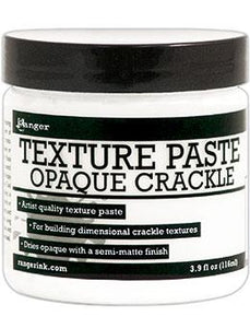 Ranger Texture Paste Opaque Crackle, 4oz