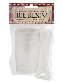 ICE Resin® Mixing Cups & Stir Sticks, 5pcs each