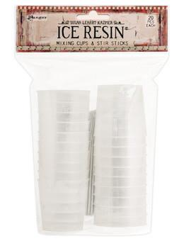 ICE Resin® Mixing Cups & Stir Sticks, 20pcs each Tools & Accessories ICE Resin®