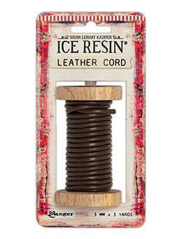 ICE Resin® Leather Cord 3.0mm Brown Leather Cord ICE Resin®