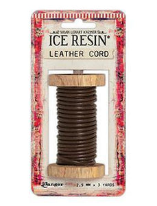 ICE Resin® Leather Cord 2.5mm Brown