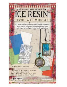ICE Resin® Tissue Paper Assortment Ephemera ICE Resin®