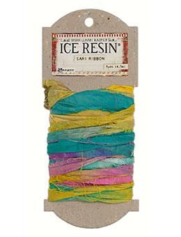 ICE Resin® Silk Sari Ribbon - Jewel