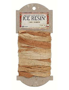 ICE Resin® Silk Sari Ribbon - Neutral