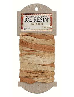 NEW! ICE Resin® Silk Sari Ribbon - Neutral