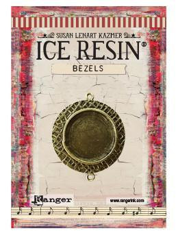 ICE Resin® Milan Bezels: Antique Bronze Medium Circle, 1pc. Bezels & Charms ICE Resin®