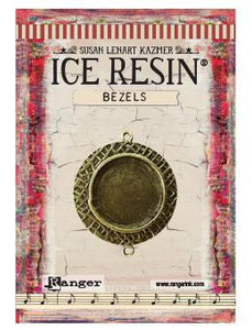 ICE Resin® Milan Bezels: Antique Bronze Medium Circle, 1pc.