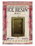 ICE Resin® Milan Bezels: Antique Bronze Large Rectangle, 1pc.