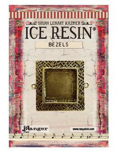 ICE Resin® Milan Bezels: Antique Bronze Medium Square, 1pc.