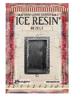 ICE Resin® Milan Bezels: Antique Silver Medium Rectangle, 1pc. Bezels & Charms ICE Resin®