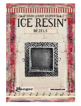 ICE Resin® Milan Bezels: Antique Silver Medium Square, 1pc. Bezels & Charms ICE Resin®