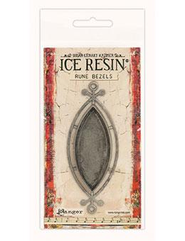 ICE Resin® Rune Bezels: Antique Silver Ellipse Bezels & Charms ICE Resin®