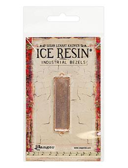 ICE Resin® Industrial Bezel Collection Rose Gold Medium Rectangle