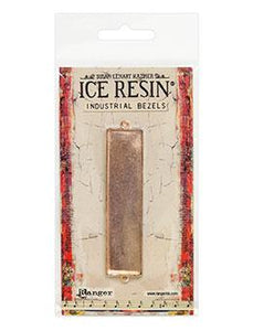 ICE Resin® Industrial Bezel Collection Rose Gold Large Rectangle