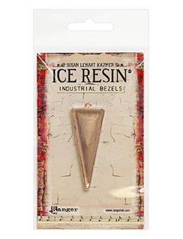 ICE Resin® Industrial Bezel Collection Rose Gold Medium Triangle Bezels & Charms ICE Resin®