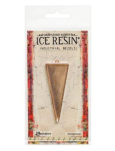 ICE Resin® Industrial Bezel Collection Rose Gold Large Triangle