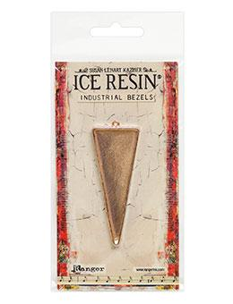 ICE Resin® Industrial Bezel Collection Rose Gold Large Triangle Bezels & Charms ICE Resin®