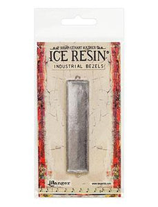 ICE Resin® Industrial Bezel Collection Sterling Large Rectangle Bezels & Charms ICE Resin®