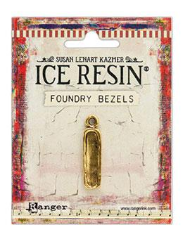 ICE Resin® Foundry Bezel Petite Pillar Bezels & Charms ICE Resin® Gold