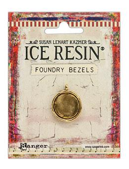 ICE Resin® Foundry Bezel Simple Circle Bezels & Charms ICE Resin® Gold