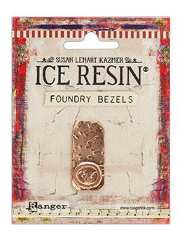 ICE Resin® Foundry Bezel Cabby Rectangle Bezels & Charms ICE Resin® Rose Gold