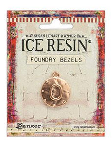 ICE Resin® Foundry Bezel Cabby Round Bezels & Charms ICE Resin® Rose Gold