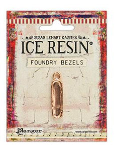 ICE Resin® Foundry Bezel Petite Pillar Bezels & Charms ICE Resin® Rose Gold