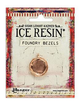 ICE Resin® Foundry Bezel Simple Circle Bezels & Charms ICE Resin® Rose Gold