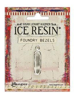 ICE Resin® Foundry Bezel Petite Pillar Bezels & Charms ICE Resin® Silver