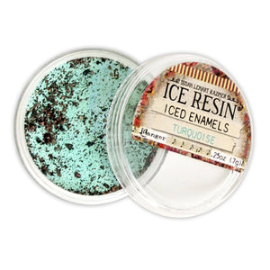 ICE Resin® Turquoise Iced Enamels Powders ICE Resin®