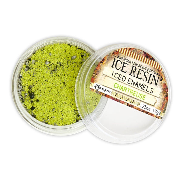 ICE Resin® Chartreuse Iced Enamels Powders ICE Resin®