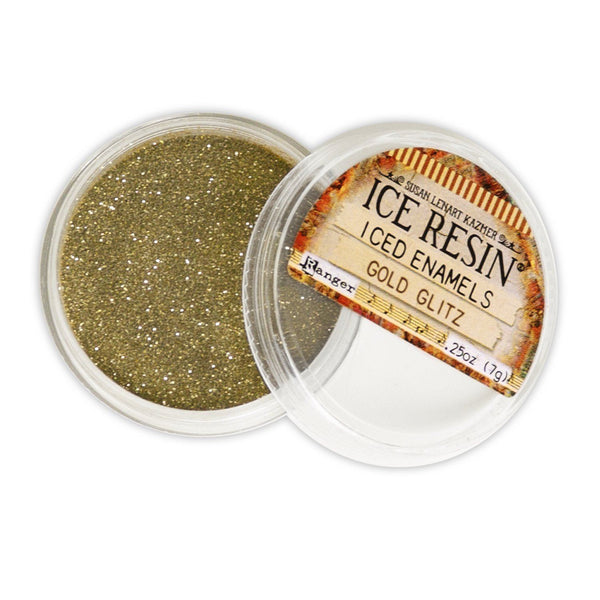 ICE Resin® Gold Glitz Iced Enamels Powders ICE Resin®