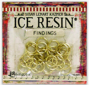 ICE Resin® Findings Jump Rings: Antique Bronze