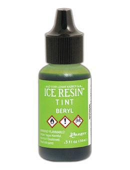 ICE Resin® Tint Beryl, 0.5oz Tints ICE Resin®